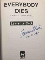 EVERYBODY DIES. by Block, Lawrence