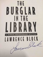THE BURGLAR IN THE LIBRARY. by Block, Lawrence.