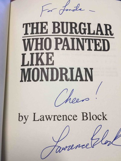 THE BURGLAR WHO PAINTED LIKE MONDRIAN. by Block, Lawrence.