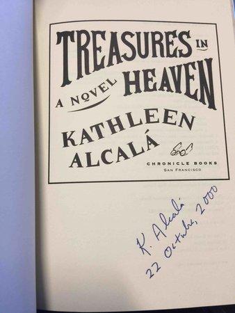 TREASURES IN HEAVEN. by Alcala, Kathleen.