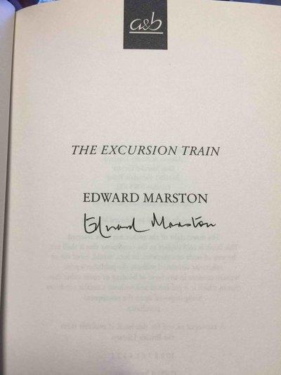 THE EXCURSION TRAIN. by Marston, Edward.