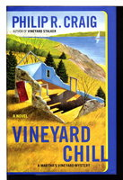 VINEYARD CHILL: A Martha's Vineyard Mystery. by Craig, Philip R. (1933-2007)