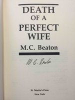 DEATH OF A PERFECT WIFE. by Beaton, M. C. (pseudonym of Marion Chesney, 1936-2019)