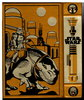 Another image of THE STAR WARS TRILOGY: Sterling Gold Leatherbound Decorative Edition: Star Wars, The Empire Strikes Back, Return of the Jedi. by Lucas, George; Donald F. Glut and James Kahn.