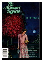 THE MISSOURI REVIEW: Rituals: 1997, Volume XX, Number 2. by Morgan, Speer, editor.