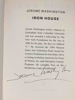 IRON HOUSE: Stories from the Yard. by Washington, Jerome.
