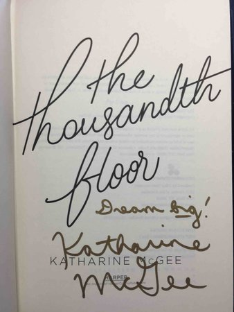 THE THOUSANDTH FLOOR. by McGee, Katharine.