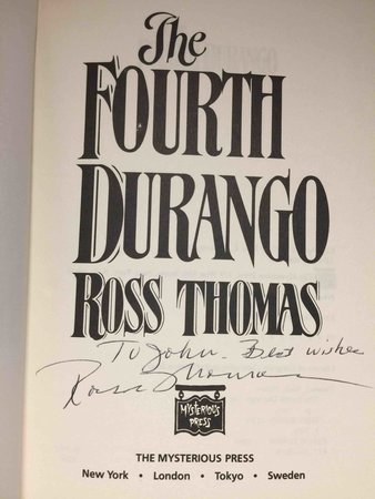 THE FOURTH DURANGO. by Thomas, Ross (1925 -1995)