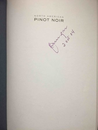 NORTH AMERICAN PINOT NOIR. by Haeger John Winthrop.