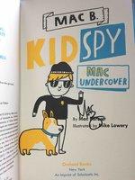 MAC UNDERCOVER: Mac B., Kid Spy. by Barnett, Mac.