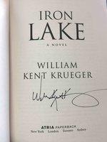 IRON LAKE. by Krueger, William Kent.