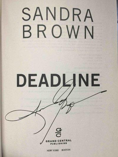 DEADLINE. by Brown, Sandra.