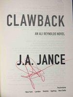 BLOWBACK: An Ali Reynolds Novel. by Jance, J. A.