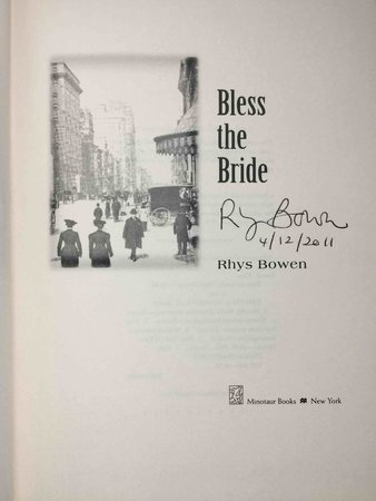 BLESS THE BRIDE. by Bowen, Rhys.
