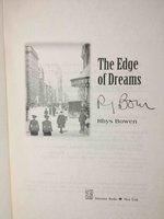 THE EDGE OF DREAMS. by Bowen, Rhys.
