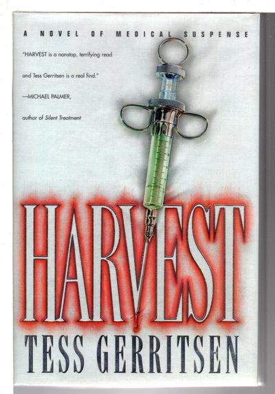 HARVEST. by Gerritsen, Tess.