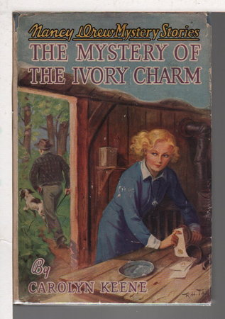 THE MYSTERY OF THE IVORY CHARM: Nancy Drew Mystery Series #13 by Keene, Carolyn.