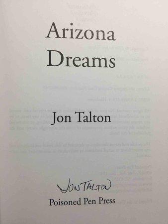 ARIZONA DREAMS. by Talton, Jon.
