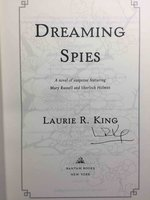 DREAMING SPIES. by King, Laurie R.