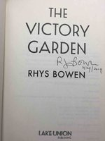 THE VICTORY GARDEN. by Bowen, Rhys.