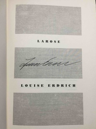 LAROSE. by Erdrich, Louise.
