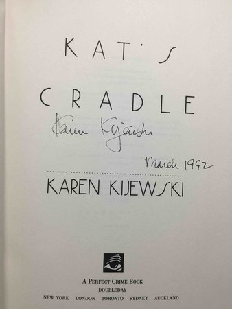 KAT'S CRADLE by Kijewski, Karen