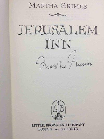 JERUSALEM INN. by Grimes, Martha.