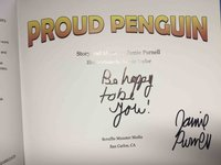 PROUD PENGUIN. by Purnell, Jamie.
