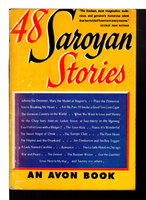 48 SAROYAN STORIES. by Saroyan, William.