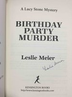 BIRTHDAY PARTY MURDER. by Meier, Leslie.