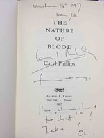THE NATURE OF BLOOD by Phillips, Caryl