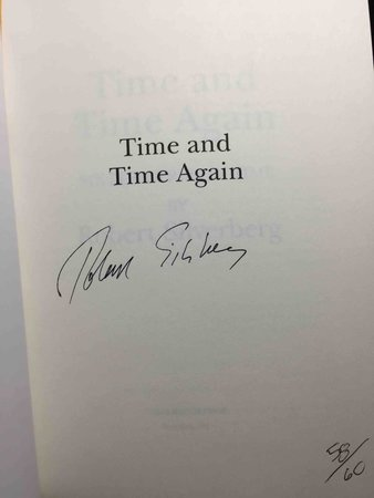 TIME AND TIME AGAIN: Sixteen Trips in Time. by Silverberg, Robert.