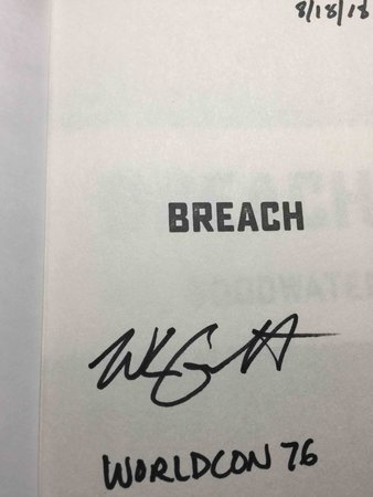 BREACH. by Goodwater, W. L.