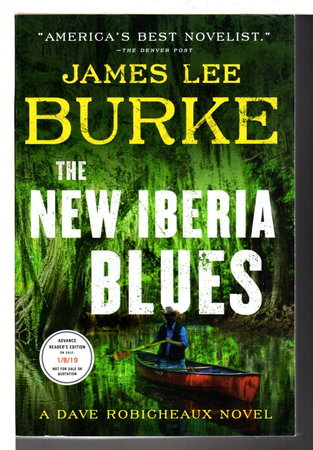 NEW IBERIA BLUES: A Dave Robicheaux Novel. by Burke, James Lee.