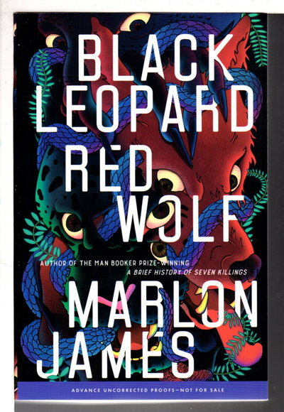 BLACK LEOPARD, RED WOLF. by James, Marlon.