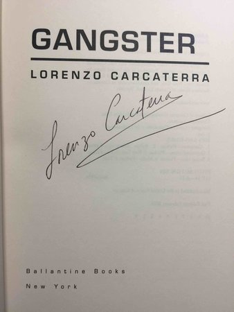GANGSTER. by Carcaterrra, Lorenzo.