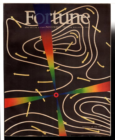 "FORTUNE MAGAZINE, NOVEMBER 1943, Volume XXVIII, Number 5 plus insert ""The United States in a New World."" by Luce, Henry R., editor."
