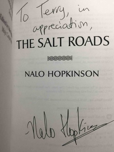 THE SALT ROADS. by Hopkinson, Nalo.