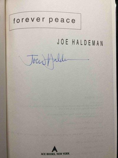 FOREVER PEACE by Haldeman, Joe