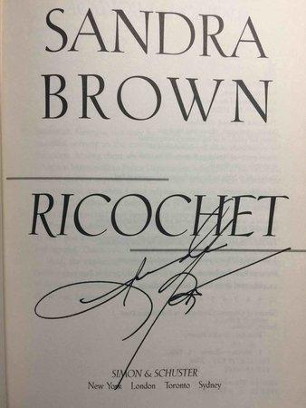 RICOCHET. by Brown, Sandra.