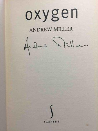 OXYGEN. by Miller, Andrew.