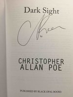 DARK SIGHT. by Poe, Christopher Allan.
