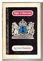 NIGHT OF WENCESLAS. by Davidson, Lionel.