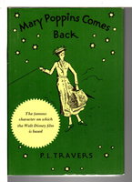 MARY POPPINS COMES BACK. by Travers, P. L.