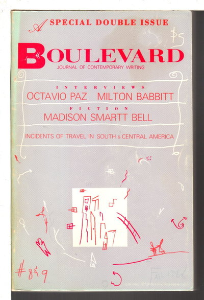 BOULEVARD, FALL 1988, Volume III, Number 2-3. by Burgin, Richard, editor. Jean Valentine and Marvin Bell, signed.