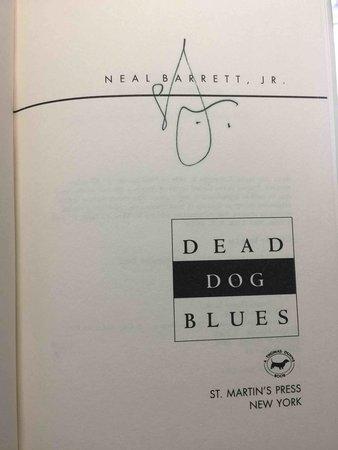 DEAD DOG BLUES. by Barrett, Neal, Jr.