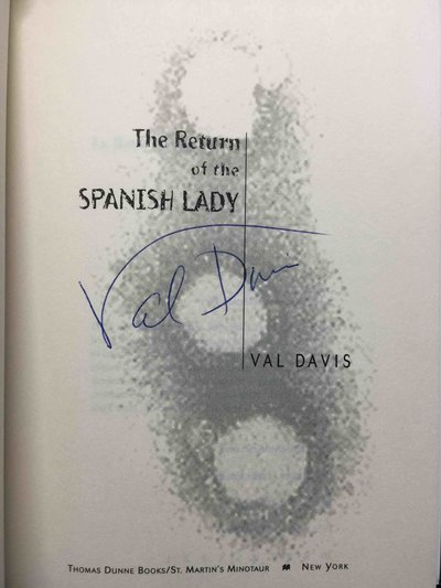 THE RETURN OF THE SPANISH LADY. by Davis, Val (pseudonym of Robert Irvine and Angie Irvine)