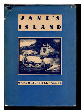 JANE'S ISLAND plus May 1931 issue of YOUNG WINGS. by Allee, Marjorie Hill