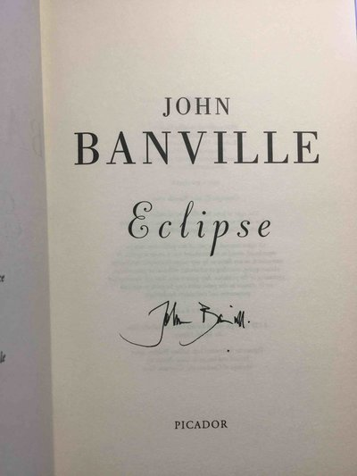 ECLIPSE. by Banville, John.