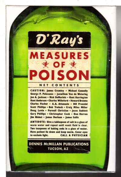 MEASURES OF POISON. by McMillan, Dennis, editor. Bill Pronzini, signed.